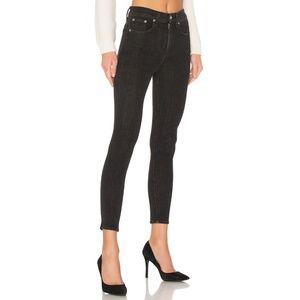 Rag & Bone High Rise Ankle Skinny Jeans Ariel 30